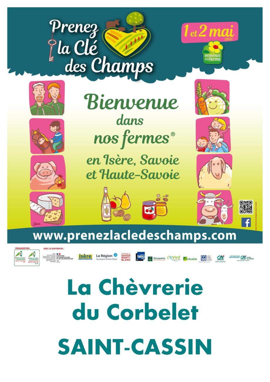 Weekend « Prenez la clé des Champs »  reporté le 5 et 6 juin 2021