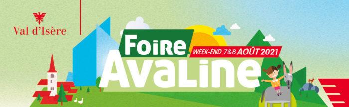 Foire de l'Avaline le 7 et 8 Aout 2021 à Val d'Isère
