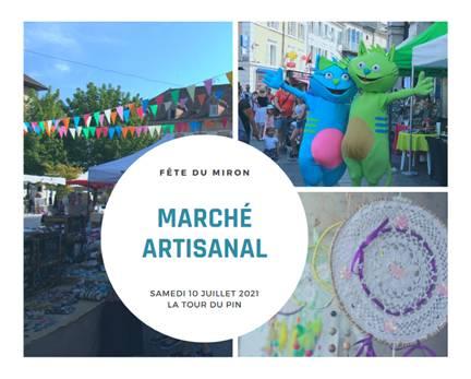 Marché Artisanal La Tour du Pin : samedi 10 juillet